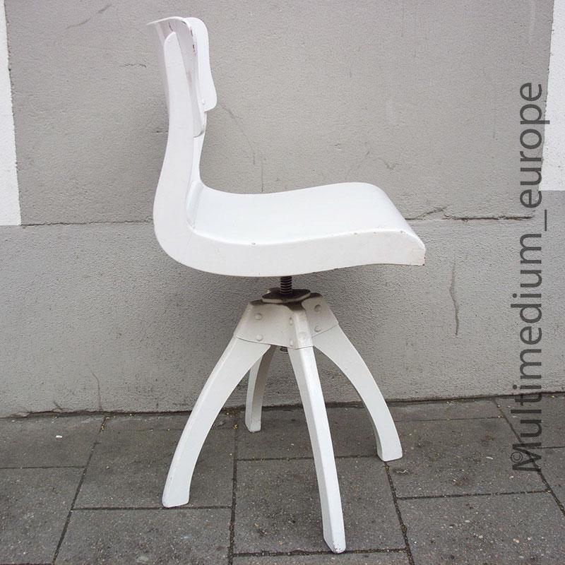 alt art deco bauhaus drehstuhl arbeitsstuhl architekten. Black Bedroom Furniture Sets. Home Design Ideas