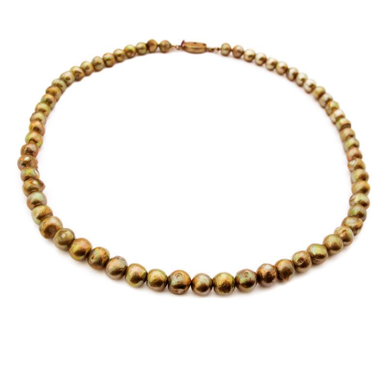s wasser zucht perlen halskette china silver verschlu perlenkette petrol farbe ebay. Black Bedroom Furniture Sets. Home Design Ideas