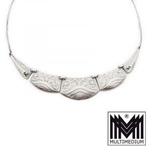 Art Deco Silber Collier Halskette silver necklace jewelry Schmuck wohl WMF