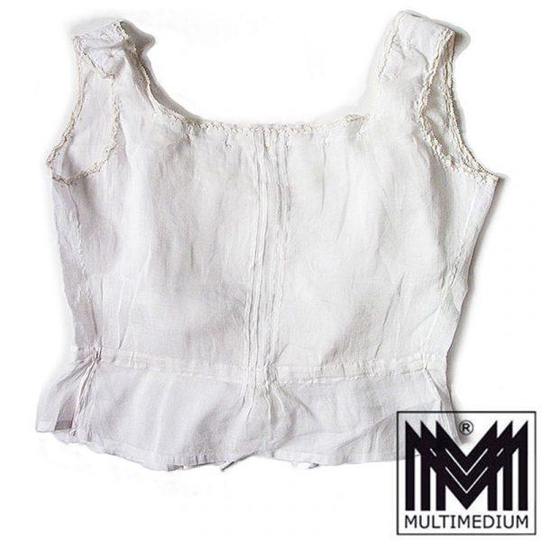 Antike Jugendstil Batist Baumwolle Unterwäsche um 1900 bis 20er Jahre