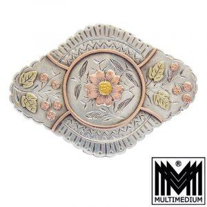 Historismus Silber Anhänger Renaissance Stil