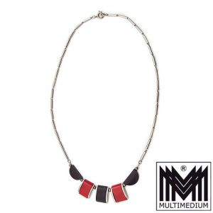 Jakob Bengel Galalit Bakelit Collier Art Deco 30er Jahre necklace