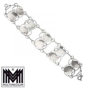 Jugendstil Armband 835er Silber signiert Handarbeit silver bracelet