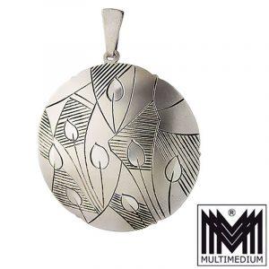 Art Deco Anhänger Silber 835 Hans Przyrembel Leipzig silver pendant