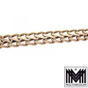 333 Rotgold Armband Panzerkette 8ct red gold bracelet 8k 10,3 g