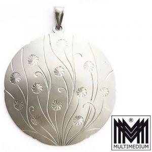 Art Deco Anhänger Silber 835 signiert Hans Przyrembel, Leipzig silver pendant