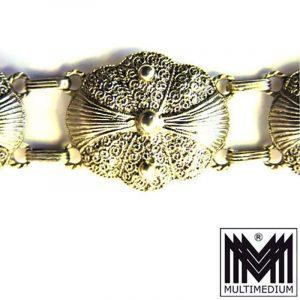 Silber Armband signiert Theodor Fahrner vergoldet silver bracelet signed