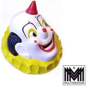Werbeträger Sinalco ? Clown auf Kronen Deckel Holz geschnitzt selten rar um 1930