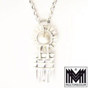 Pentti Sarpaneva Finnland Silber Anhänger Perle modernist silver pendant 1966