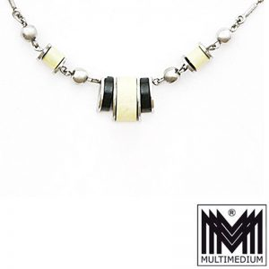 Jakob Bengel Art Deco Galalith Halskette