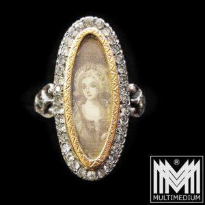 Miniaturring um 1800