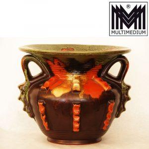 Art Deco 30er Jahre Carstens Gräfenroda Keramik Vase Monika 1 ceramic Pottery