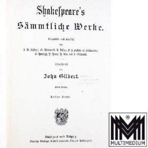 Shakespeare's Sämmtliche Werke