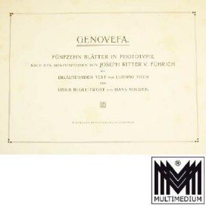 Genovefa, Josef Ritter von Führich