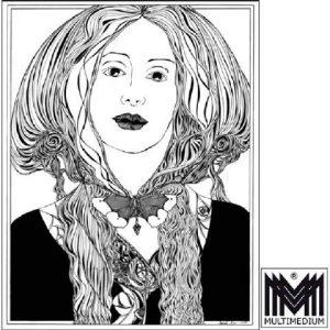 Siebdruck Gisela Geser - Lichtblick zu Mona - limitiert auf 100 Stück
